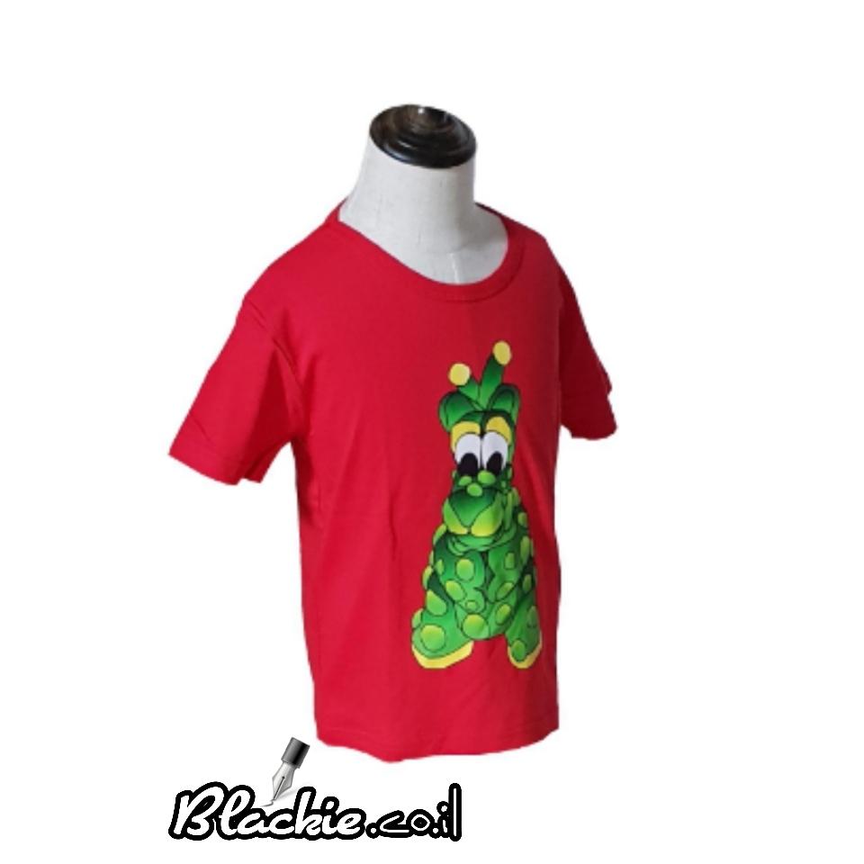 "Children colored - T shirt ""Dinosaur"" Deal single"