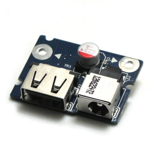 כרטיס שקע טעינה למחשב נייד לנובו G480 DC-IN Connector Power Jack USB Port Board