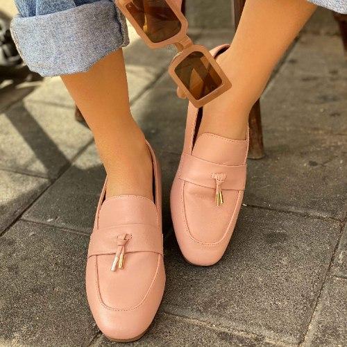 נעלי מוקסין - אוקספורד