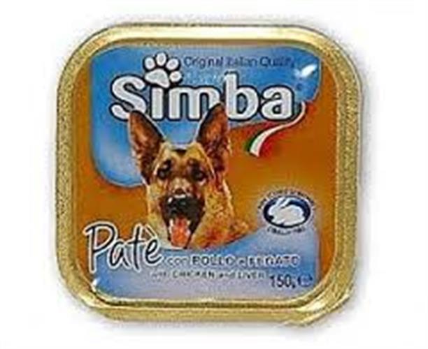 סימבה מעדן לכלב 300 גרם (simba)