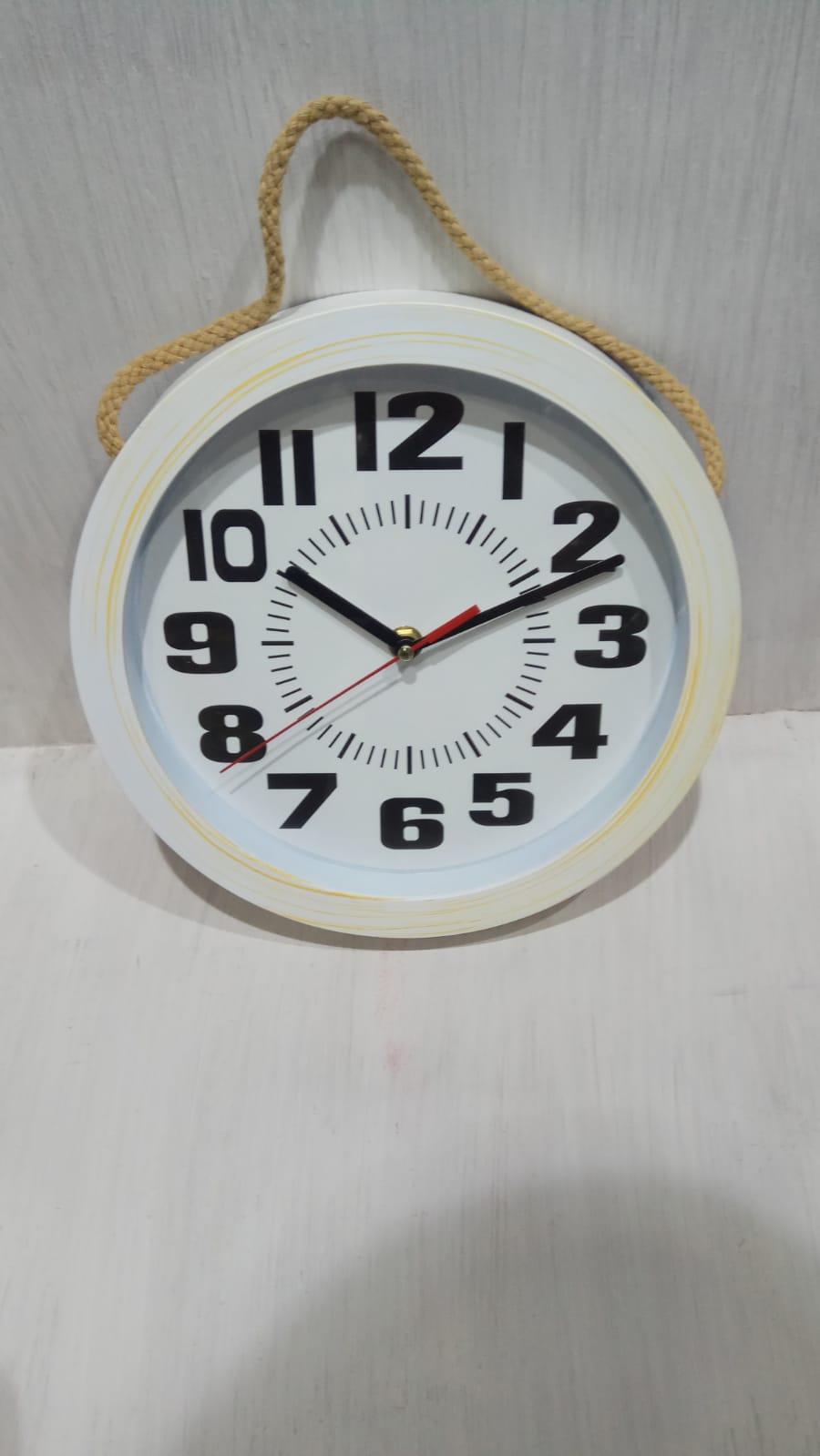 שעון קיר מעוצב חבל לתליה MC0235