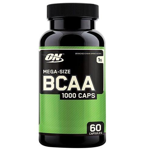 Optimum Nutrition Mega Size BCAA 1000 mg 60 Capsules