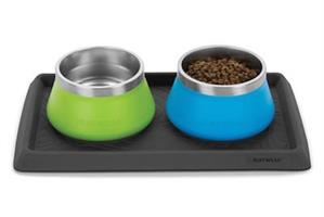 קערת מים לכלב BASECAMP STAINLESS DOG BOWL
