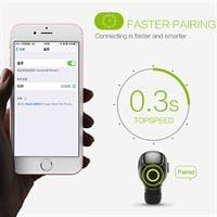 אוזניית Bluetooth אלחוטית עם דיבורית+מוזיקה – דגם QCY Q26 mini
