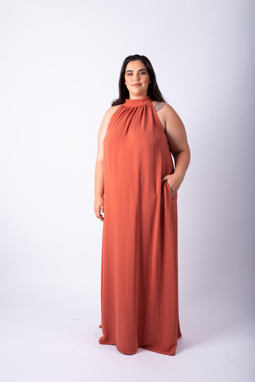 שמלת אליס מקסי בריק