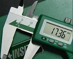 """קליבר דיגיטלי 0-150 מ""""מ, דיוק מדידה: 0.01 מ""""מ - INSIZE"""