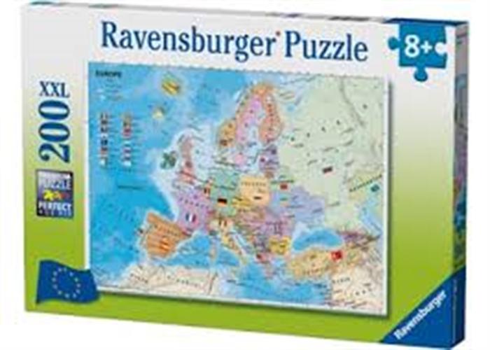 פאזל 200 חל' - מפת אירופה