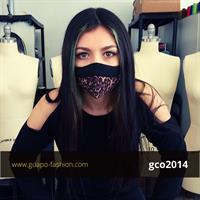 מסכת בד מעוצבת מסכה מנומרת גואפו face mask