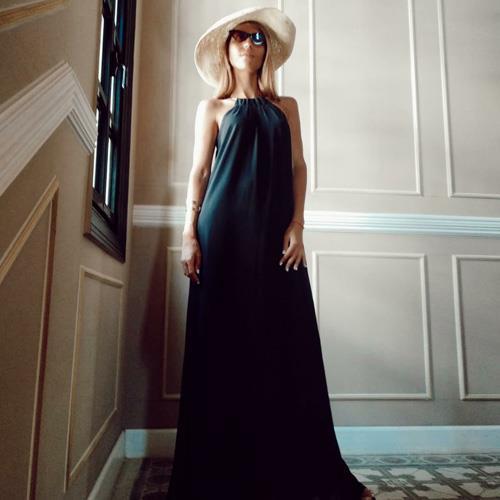 שמלת זוהרה שחורה