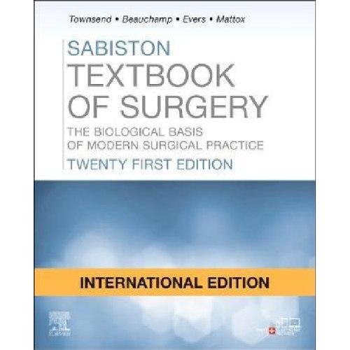 Sabiston Textbook of Surgery 21st Edition