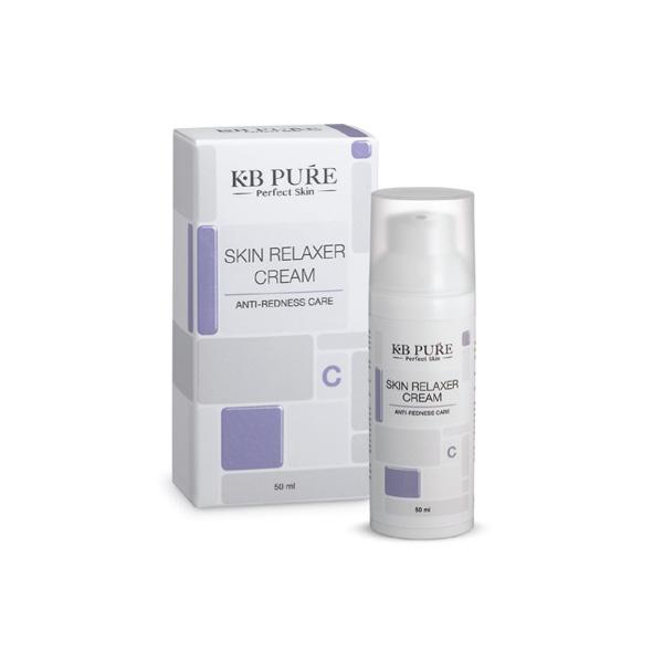 רילקסר קרם - Relaxer Cream סרום מרוכז ובעל עוצמה ייחודית לתהליך התחדשות, והבהרה של העור באיכות ויעילות (מגיע בשלוש רמות ריכוז). הקרם מצויין מבית KB PURE לטיפול בעור נטול לחות, מגורה ואדמומי, מריחת הקרם מקלה משמעותית על גירוי הנוצר מעקיצות חרקים, תפרחות ותהליכי החלמה שונים.  הקרם משלב בתוכו שמנים מהצומח, אבקת קלמין, אבץ, טוקופרל, שמן קמפור ותמציות צ