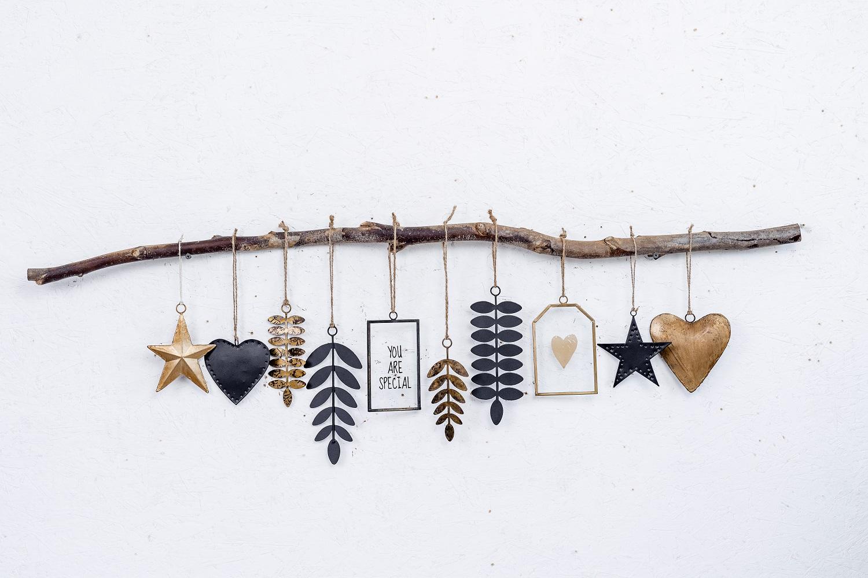 ענף מיקס שחור - זהב