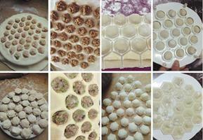 כלי להכנת 19 כיסוני בצק