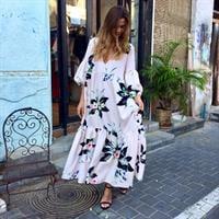 שמלת רייצל פרחוני