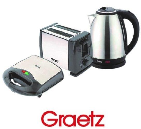 Graetz סט ארוחת בוקר 3 חלקים דגם GR4870