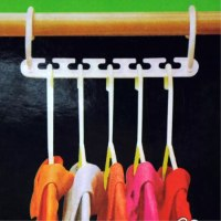 קולב ארגונית בגדים - 2 יחידות