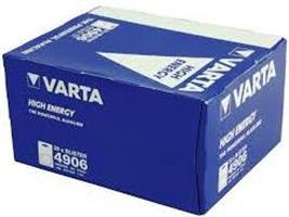 סוללות אלקליין ALKALINE AA VARTA כמות 12 יחידות