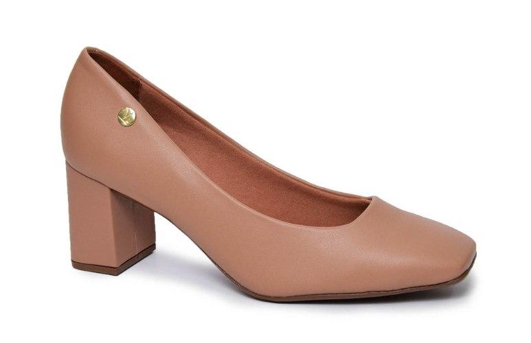 נעל עקב מרובע נוחות לנשים VIZZANO דגם - 1373-101