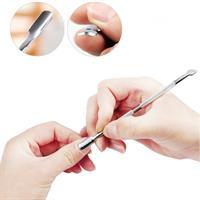 כלי מניקור ופדיקור דו צדדי להסרת עור מת (סט של 4 יח')