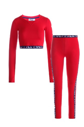 חליפת אקטיב FILA אדום