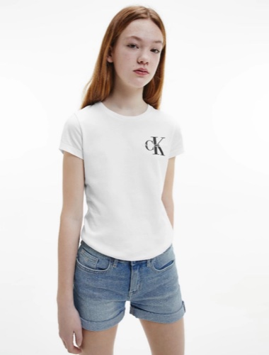 טישירט לבנה CK מידות 4-16