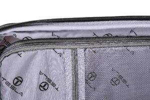 סט 2 מזוודות חזקות במיוחד TESLA POLYPROPYLENE - צבע סגול