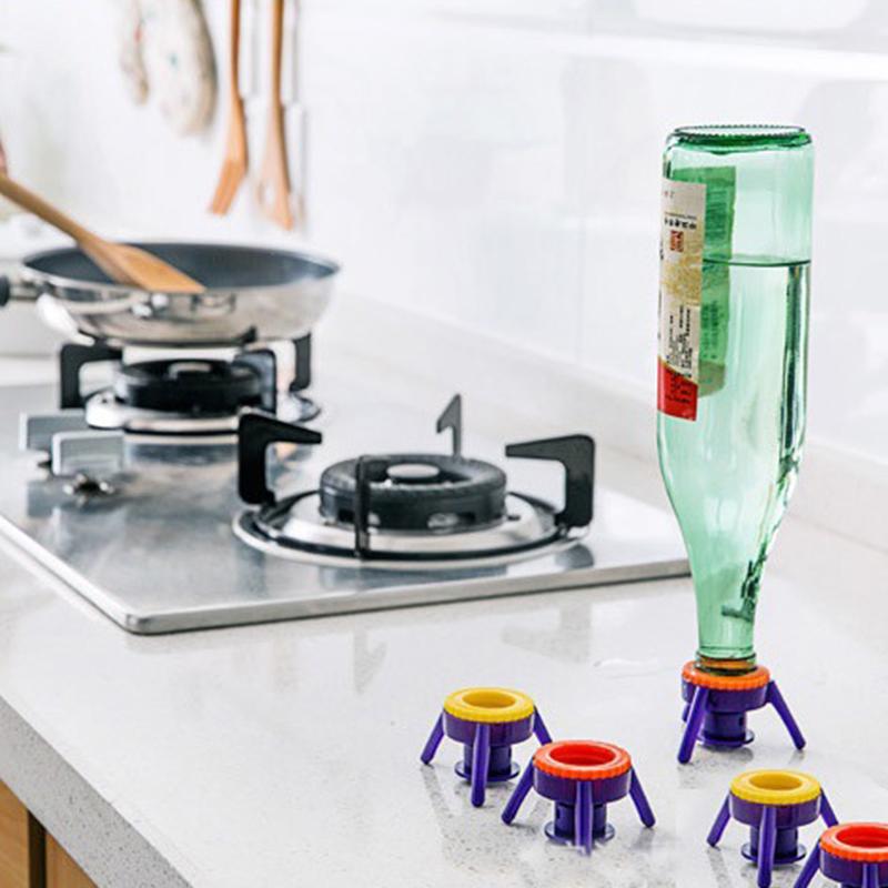 סט 6 סטנדים לבקבוקי קטשופ,שמפו או רטבים