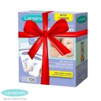 תיק צידנית מהודר + 100 שקיות אחסון חלב