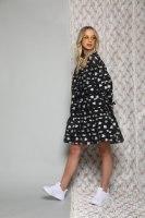 שמלה מידי שילוב ריקמות