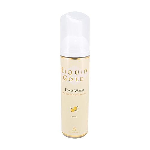 אנה לוטן סדרת הזהב קצף ניקוי לפנים - Anna Lotan Liquid Gold Foam Wash