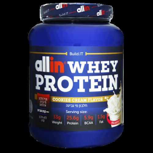 """אבקת חלבון אול אין 2.27 ק""""ג – Allin Whey Protein"""