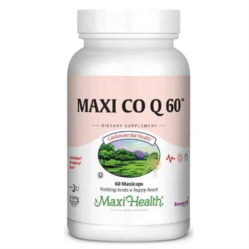 "-- Q10 -- מכיל 60 קפסולות של 60 מ""ג, Maxi Health"