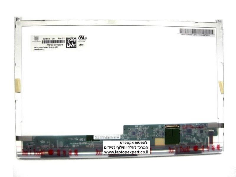 החלפת מסך למחשב נייד דל Dell Latitude E6410 WXGA LED LCD Screen Panel JXCN8 N141I6-D11