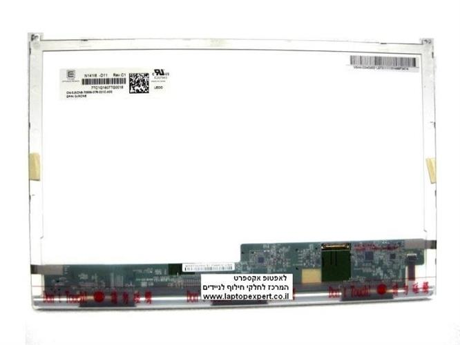 החלפת מסך למחשב נייד דל Dell Latitude E6410 WXGA LED LCD Screen Panel JXCN8 N141I6-D11