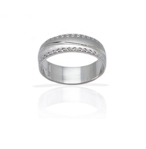 טבעת נישואין מעוצבת  - דגם M559