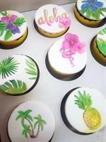 Leaves Embosser Stamps Set of four tropical leaves