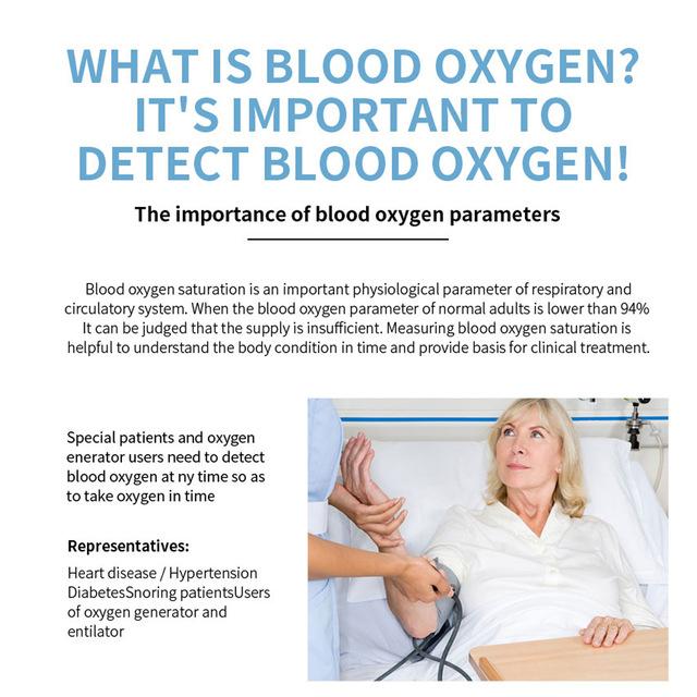 אוקסימטר למדידת דופק וחמצן בדם