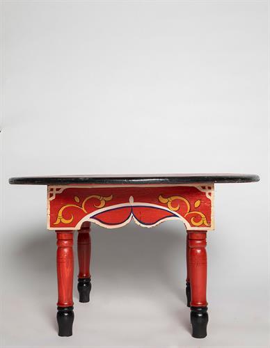 שולחן מצויר עגול