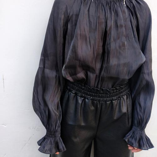 מכנס NIRO דמוי עור שחור