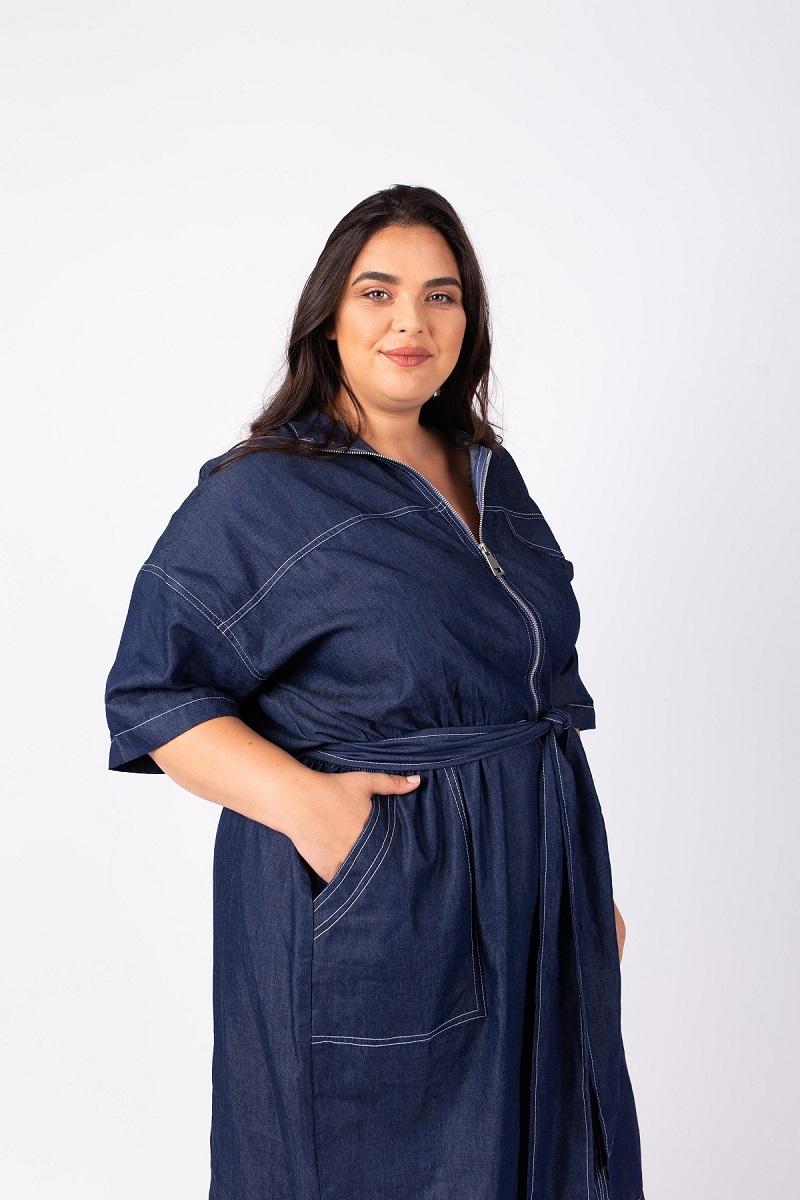 שמלת ג'ואנה ג'ינס