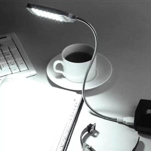 מנורת קריאה גמישה למחשב נייד-49 שקלים
