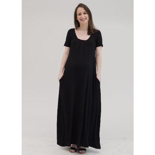 שמלת מקסי הריון והנקה לייה- מבית Imahot