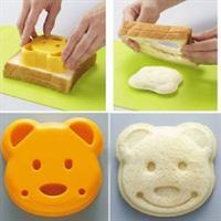 מעצב לחם בצורת דוב