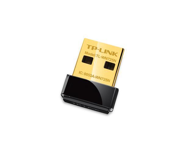 מתאם רשת אלחוטי TP-Link TL-WN725N nLITE Nano 150Mbps