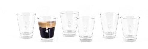 סט 6 כוסות אספרסו ביאלטי בוקריני