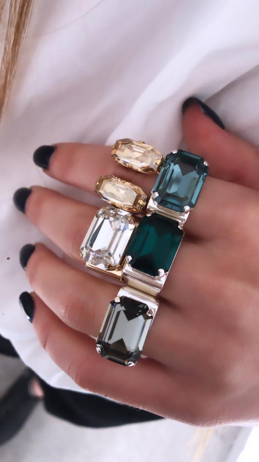 טבעת מישל  כסף