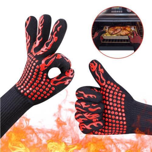 כפפות נגד חום עמידות בחום של 500°C