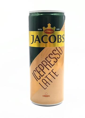 ג'ייקובס אייס קפה לאטה