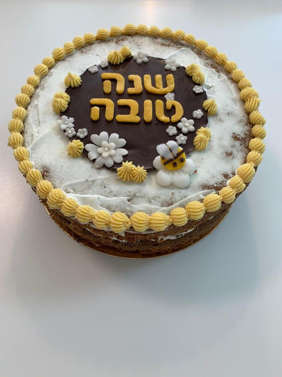 עוגת דבש חגיגית