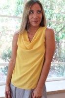 חולצת ליהי צהובה